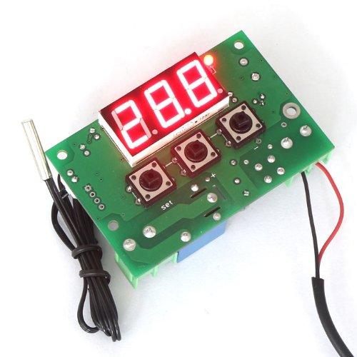 DROK® 12V DC Digitale Temperaturregler Heizen / Kühlen Thermostat Temp Control--50-110 ℃