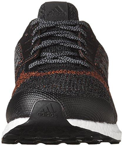 Adidas Prestanda Mens Ultra Boost Gata Löparskor Svart / Röd
