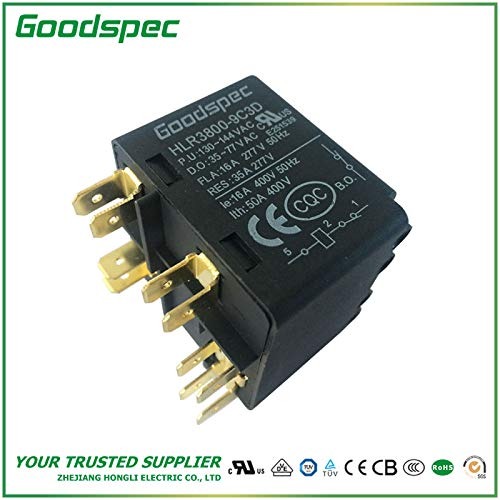 HLR3800-9C3D Potential Type Motor Starting Relay (Relay Starting Potential)