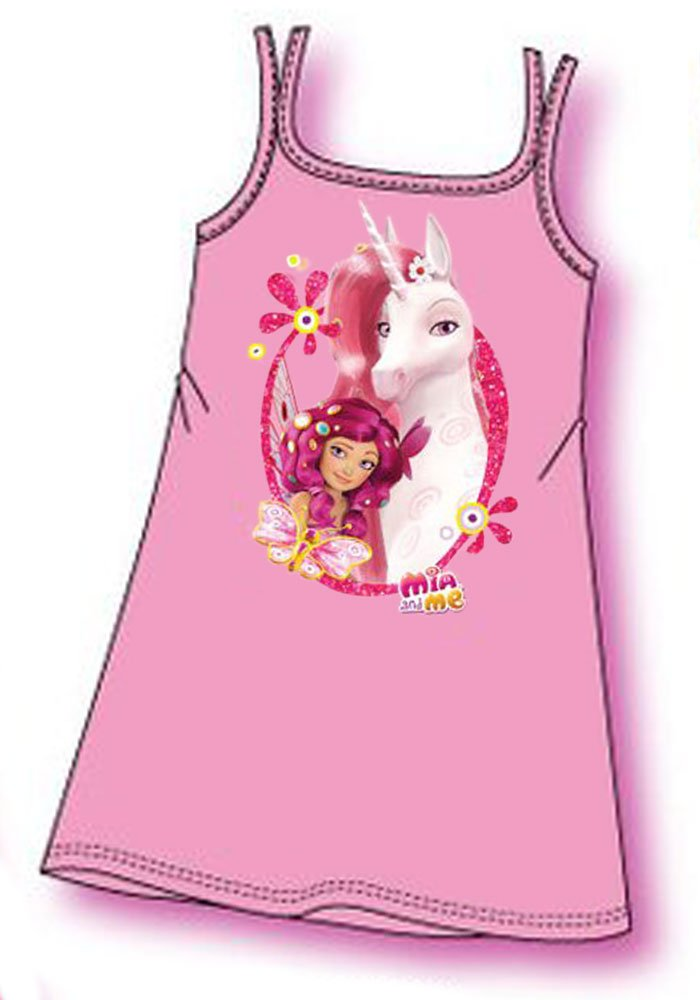 Mia and Me Girl Sleeveless Night Shirt in Gift Box Officially Licensed Brand New oe7660 Raimbow