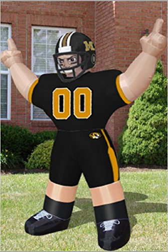 University of Missouri Tigers 8' Football Player NCAA College Airblown Inflatable ()