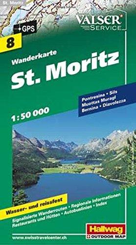 St. Moritz/St-Moritz (Wanderkarte)
