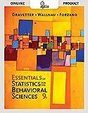 Aplia for Gravetter/Wallnau/Forzano's Essentials of Statistics for the Behavioral Sciences, 9th Edition