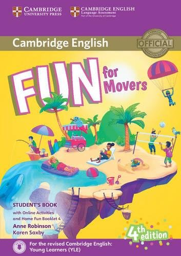 Fun for Movers Student's Book with Online Activities with Audio and Home Fun Booklet - For Movers Fun