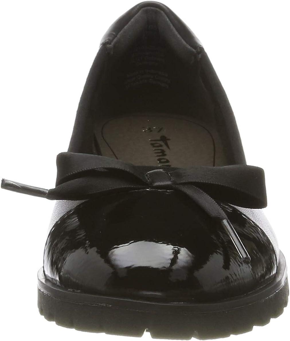 Tamaris 1-1-22100-23, Ballerines Femme Noir Black Comb 98