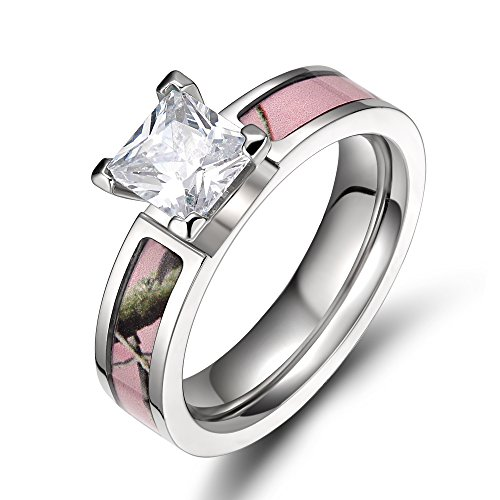 Pink-Camo-Titanium-Rings-for-Women-with-Cubic-Zirconia-5mm