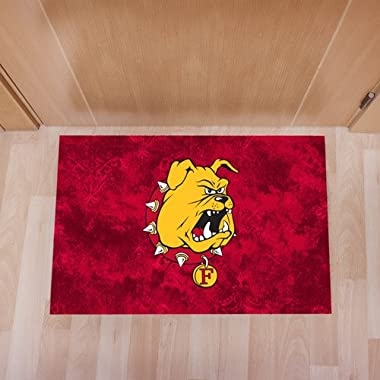 Ferris State Full Color Indoor Floor Mat 'Bulldog Head'