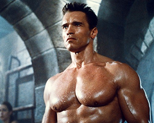 Arnold Schwarzenegger Huge Bare Chest Macho Pose 16x20 Canvas Giclee