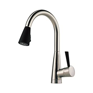 Attrayant Brizo 63070LF SSST Venuto Kitchen Faucet Single Handle Deck Mount Pull Down  Spray With