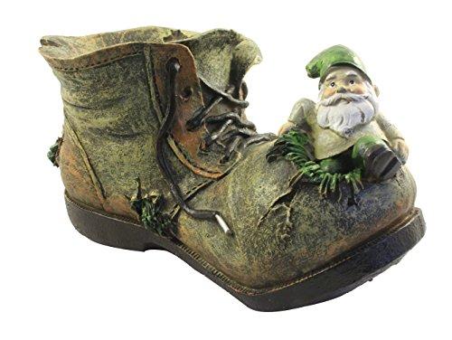 An Old Boot Garden Ornament ()