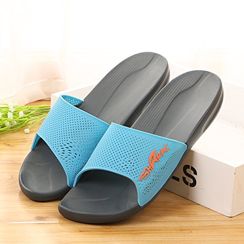for 44 sky women men blue and slippers Indoor 45Uwqa6F4