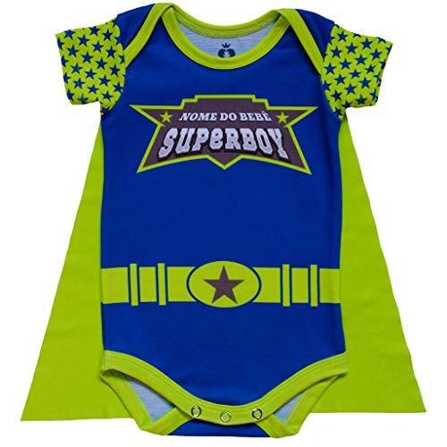 Body Bebê Fantasia Super-Herói - Isabb