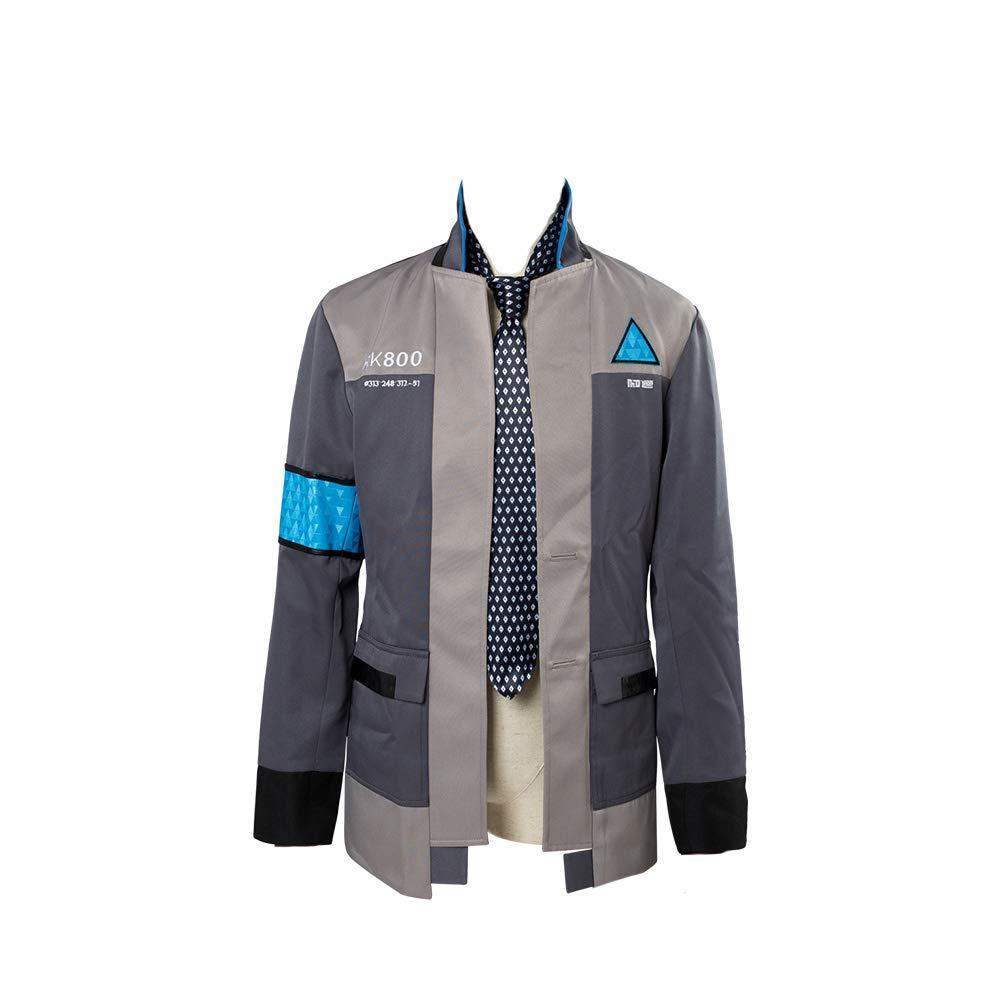 Homme Sport Veste Jacket Veste de Survetement et Casquette Deguisement Heros Manteau Cosplay Film Role Helymore