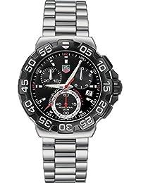 TAG Heuer Men's CAH1110.BA0850 Formula 1 Chronograph Black Dial Watch