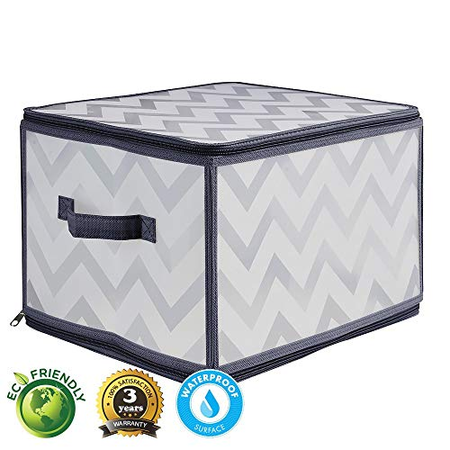 Collapsible Bin Basket Box Cube for Home Closet Nursery Organizer Storage Container (Large 1 pc)