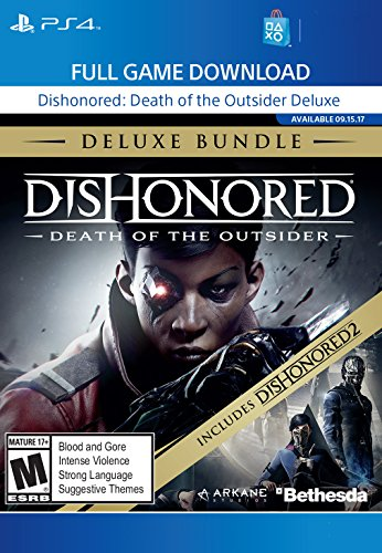 Dishonored: The Death of the Outsider Deluxe Edition - PS4 [Digital Code] by Bethesda