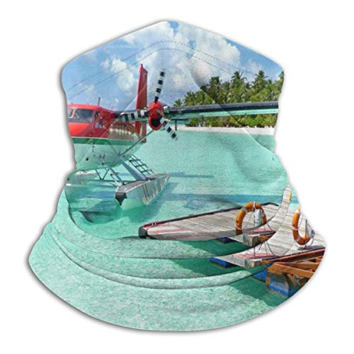 Tropical Landscapes Balaclava Womens Bandana Mens Balaclava,Neck Warmer,Face Mask,Neckerchief Hatliner
