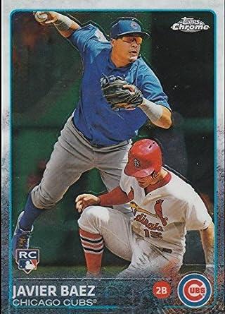 Amazoncom 2015 Topps Chrome Baseball Rookie Card 89