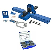 Kreg Jig K5 Master System with Pocket Hole Screw Kit (5-Sizes) by Kreg