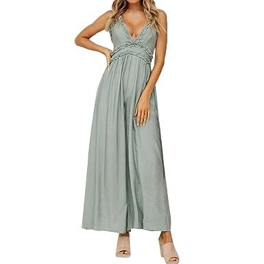 BABYSHAN_Jumpsuit Mujer Elegante - Monopiezas y túnica Verano ...