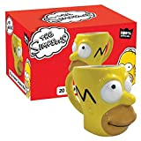 ICUP 10627 Simpsons Homer Molded Mug, Multicolor