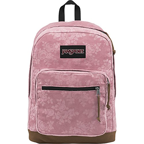 Corduroys Cotton Vintage (JanSport Right Pack Expressions (Vintage Pink Rose Corduroy))