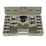 Metric Professional Tap And Die Set Case Included 60 Piece Alloy Steel SAE - Skroutz