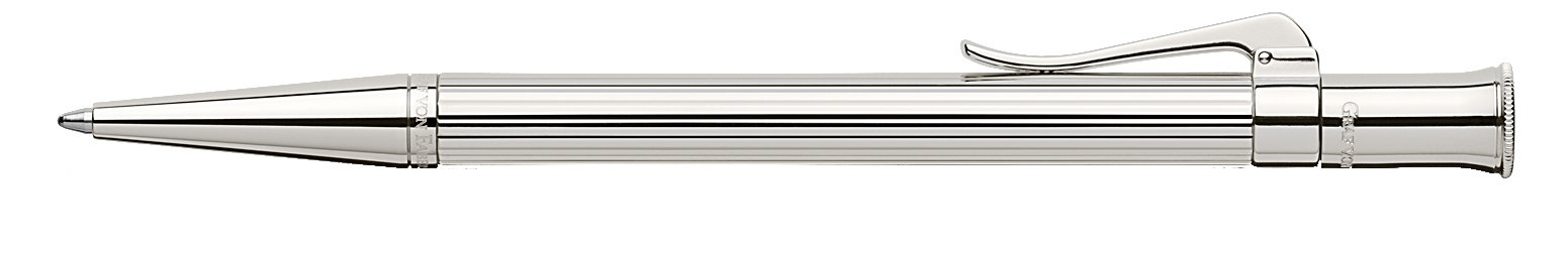 Graf von Faber-Castell Classic Ballpoint pen, Platinum trim, 145532