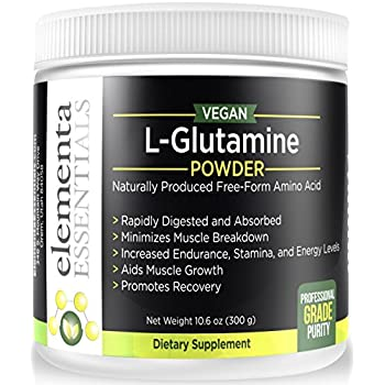 Pure Micronized L Glutamine Powder | 5000mg Serving—Highly Concentrated| 300 Grams | Recover from Workouts| Retain Muscle Mass | Support Gut Health |100% ...