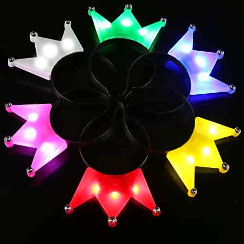 e4db8bc89737d seller  Magic Matt s Brilliant Blinkys. (134). Fun Central BC732 12pcs LED  Crown Headband