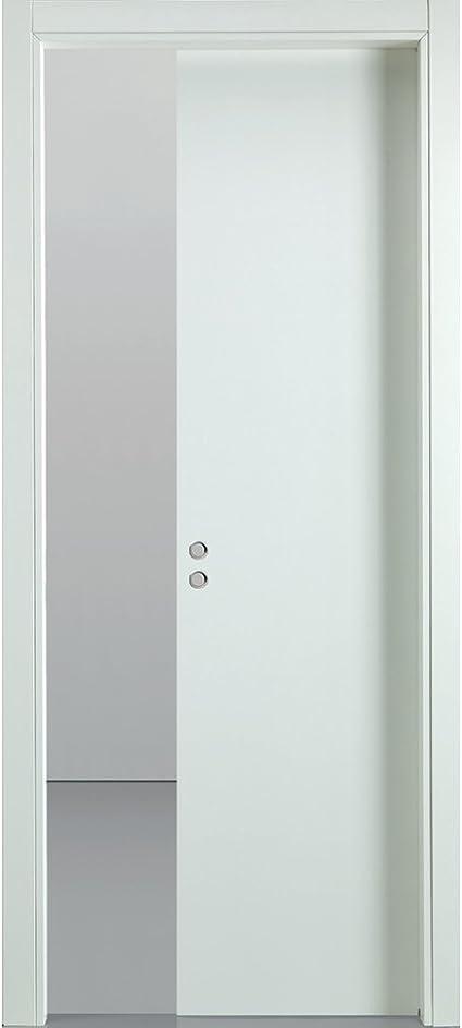 Busatti - Original. Puerta corredera de madera de color blanco ...