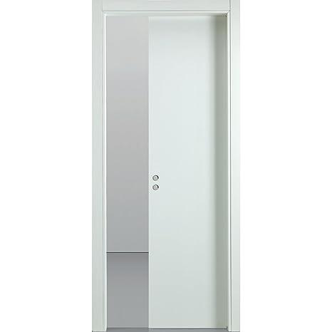 Porta Scorrevole a Scrigno In Legno 210x80 cm Busatti ...