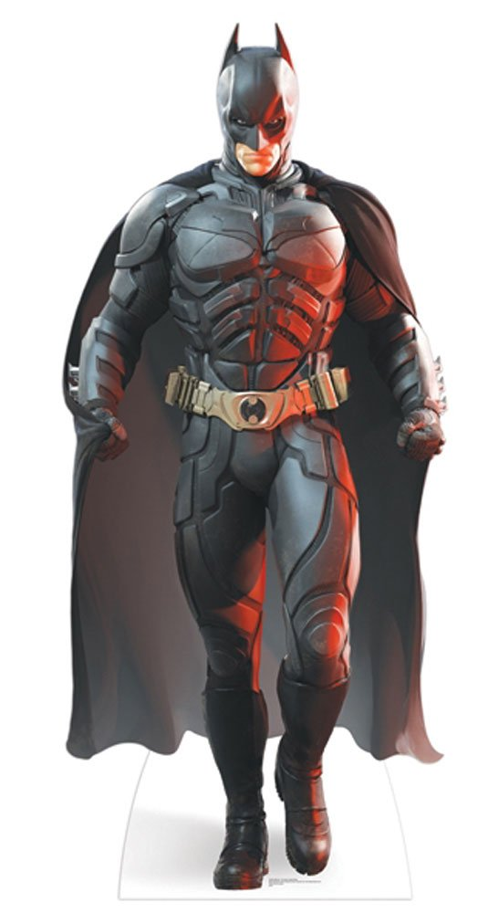Empire Merchandising 663887 The Dark Knight Rises, Batman Cardboard Cut-Out Approx. 191 cm by Empire Merchandising GmbH by Empire Furniture USA
