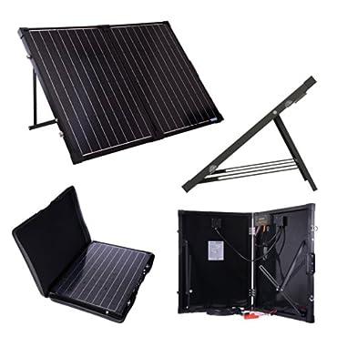Renogy RNG-F-2X50D 100 Watts 12 Volts Monocrystalline Foldable Solar Suitcase