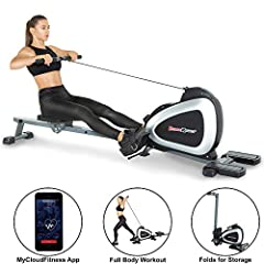 "Fitness Reality. Real people. Real results. Enjoy your workout with Fitness Reality 1000 plus rower without leaving your home! The Fitness Reality 1000 plus has a large 3. 5"" LCD display, 14 levels of magnetic resistance, and a large cushione..."
