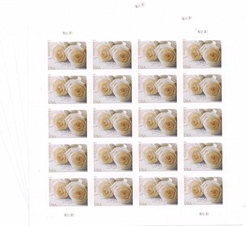 - USPS 575900 Series Wedding Roses Commemorative Stamp Scott 4520 Sheet of 20 Forever Stamps