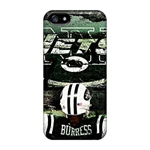 Shock Absorption Hard Cell-phone Case For Iphone 5/5s (MsH18130Xlwx) Custom Vivid New York Jets Pictures