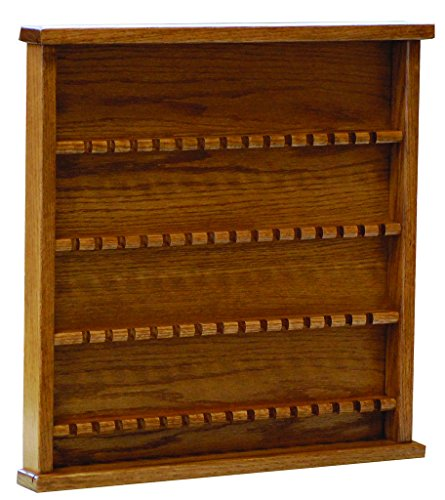 Oak Collectors Spoon Display Rack - Amish Made in USA