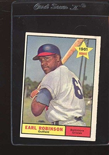 1961 TOPPS #343 EARL ROBINSON VGEX *150476