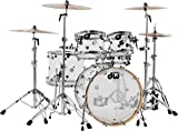 DW Design Series 5-piece Shell Pack - Clear Acrylic