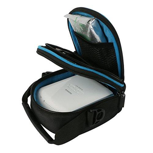 Hard Travel Case Fujifilm Instax SP-3 Mobile Printer co2crea (Black 2) by Co2Crea