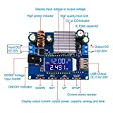 WHDTS DC Buck Boost Power Supply Module DC 5V-30V