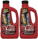 Garbage Disposal Drano Drano 00117-2PK Max Clog Remover (Pack of 2), 32 oz