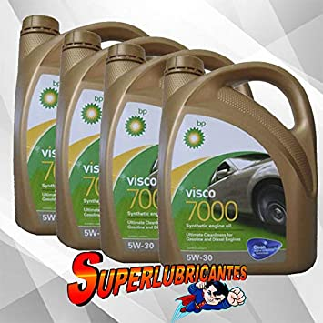 BP Visco 7000 5W30 4x4L(16Litros): Amazon.es: Coche y moto