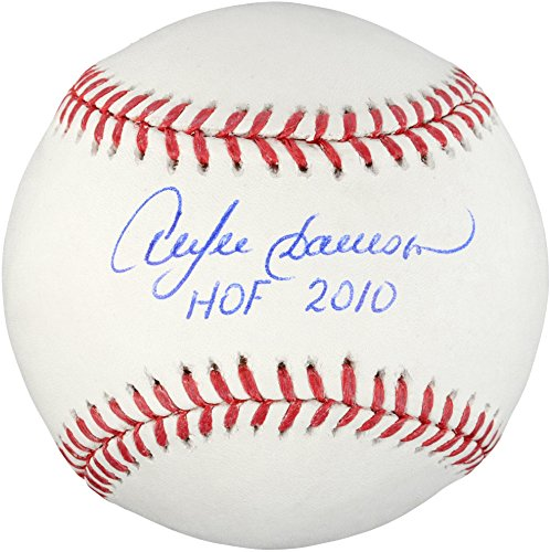 Andre Dawson Chicago Cubs Autographed Baseball with