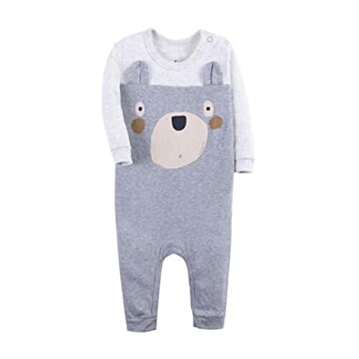 e585008e9b40 Amazon.com  Toddler Infant Baby Girl Boy Clothes Winter Long Sleeve ...