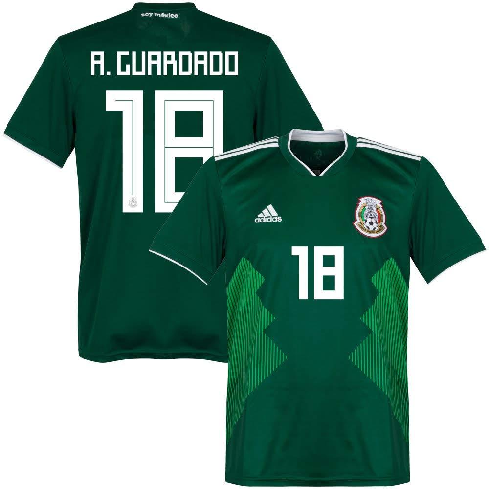 Mexiko Home Trikot 2018 2019 + A.Guardado 18 - L