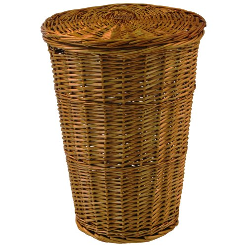 - Redmon For Kids Collection Round Willow Hamper in Honey