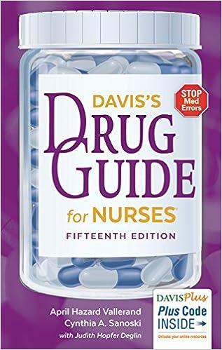 Davis Drug Guide For Nurses 14th Edition Pdf