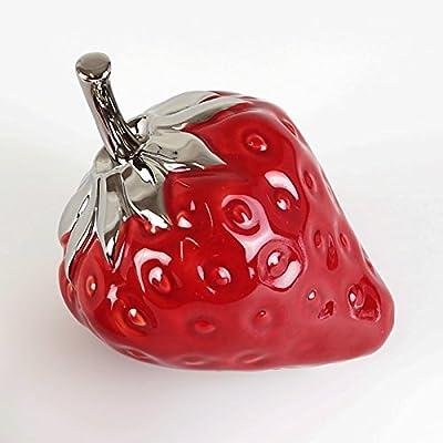Figura Fresa Rojo Plata Tamaño a Elegir Decorar Frutas, fruta ...